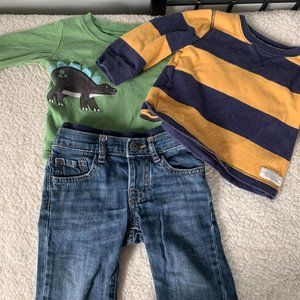 Gap Carters Dinosaur Outfit 12 Month